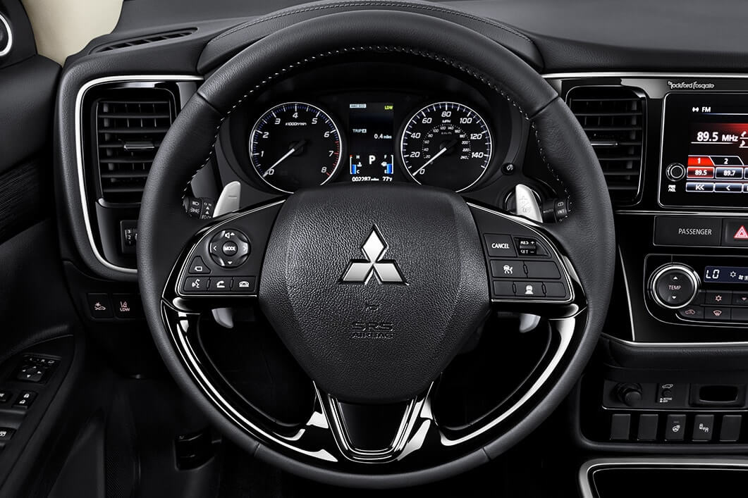 2018 Mitsubishi Outlander Steering Wheel