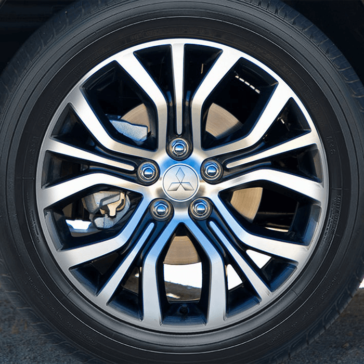 2018 Mitsubishi Outlander Sport Alloy Wheels