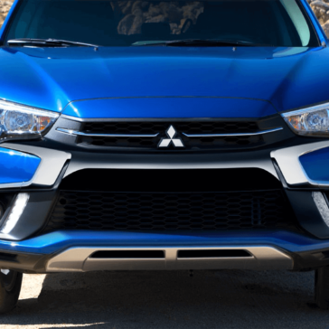 2018 Mitsubishi Outlander Sport Front Fascia