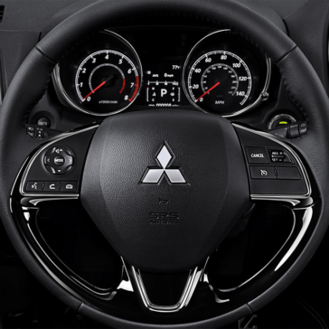 2018 Mitsubishi Outlander Sport Steering Wheel