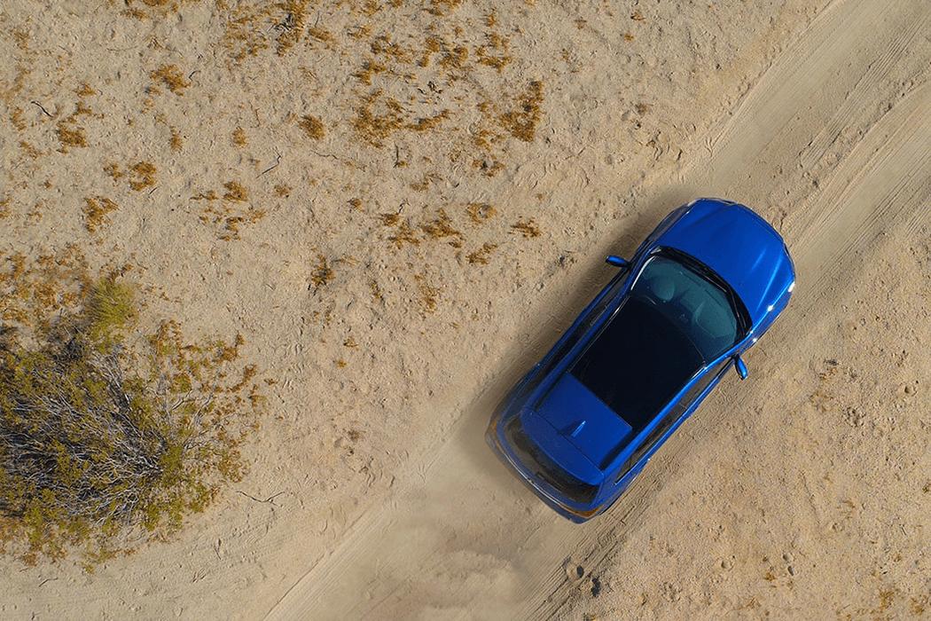 2018 Mitsubishi Outlander Sport overhead view
