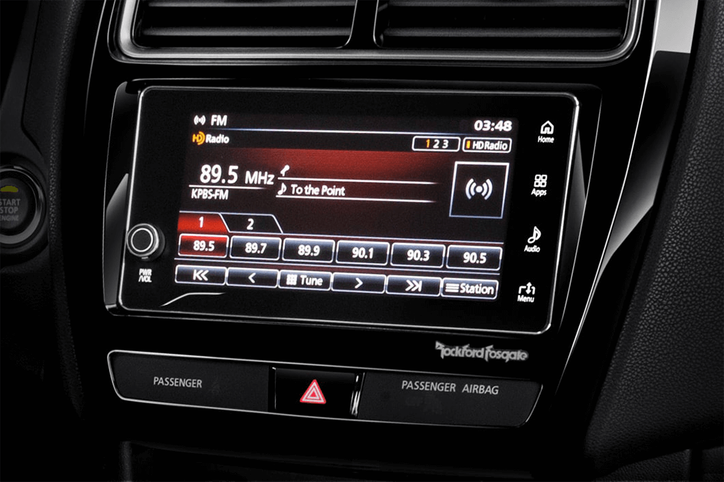 2018 Mitsubishi Outlander Sport Touch Display