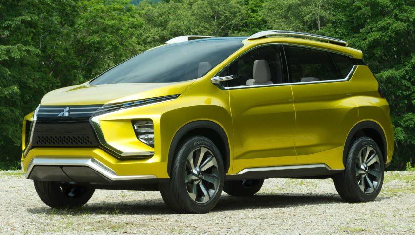Mitsubishi-XM-crossover-concept-side-Honda-BR-V-rival-revealed