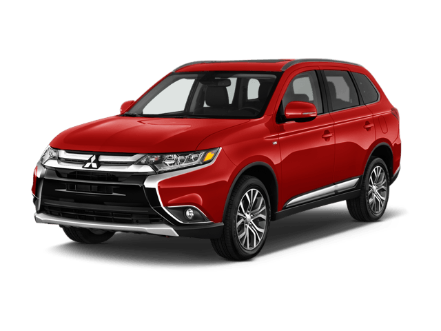 Front View of Mitsubishi Outlander
