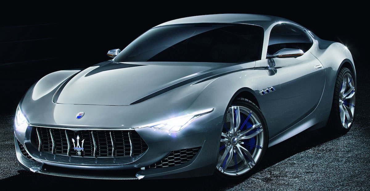 Quick Look at the Maserati Alfieri Concept