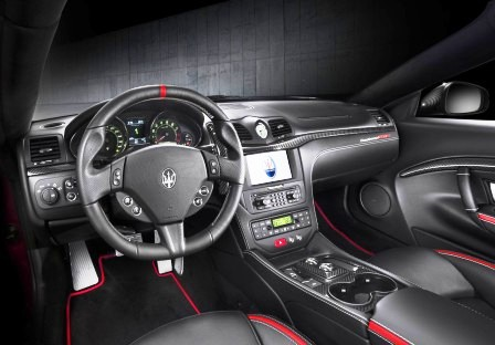 Maserati 2015 interior images for Maserati granturismo s interieur