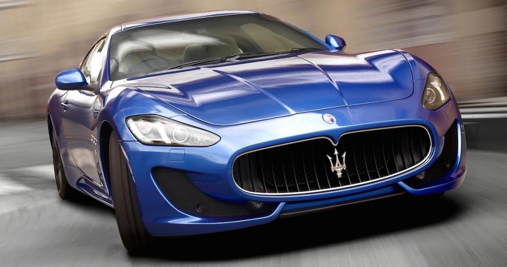 2015 Maserati Granturismo - Blue