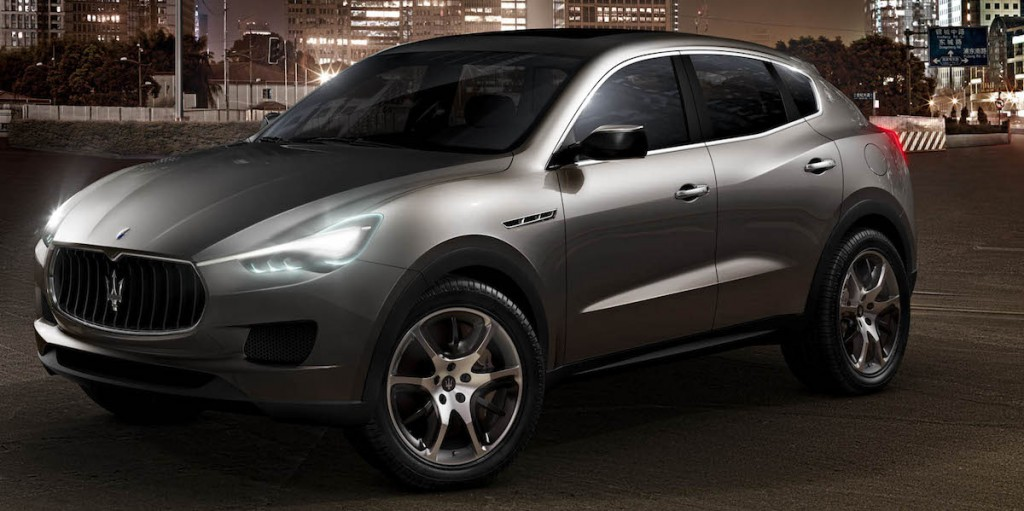 maserati leans on the levante. Black Bedroom Furniture Sets. Home Design Ideas