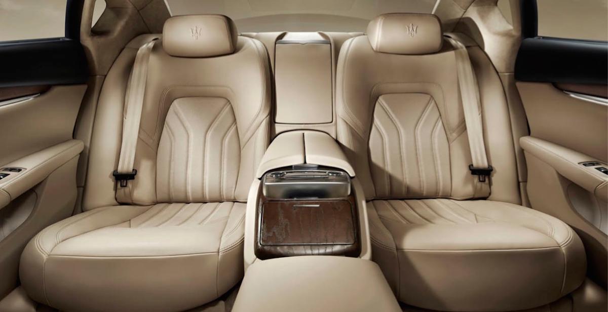 2015 Maserati Quattroporte seats