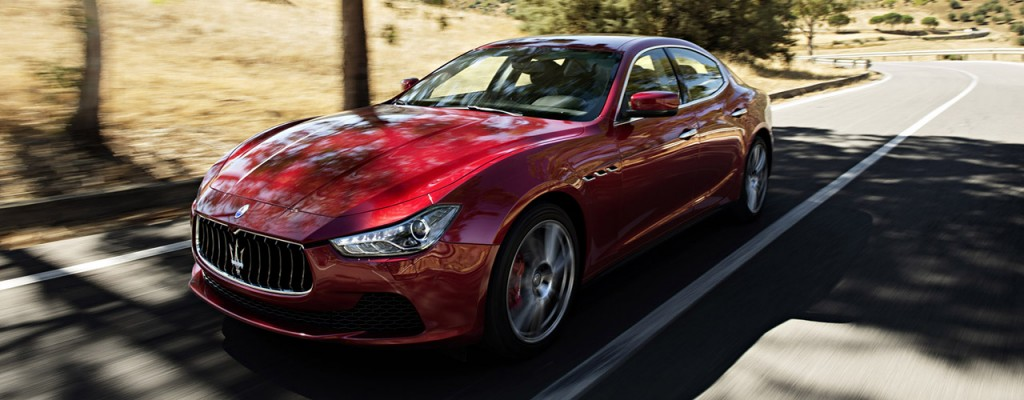 The new 2016 Maserati Ghibli S model. Photo courtesy of Maserati.