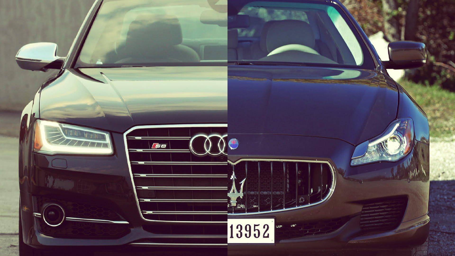 Maserati Quattroporte vs the Audi S8 Maserati of Albany