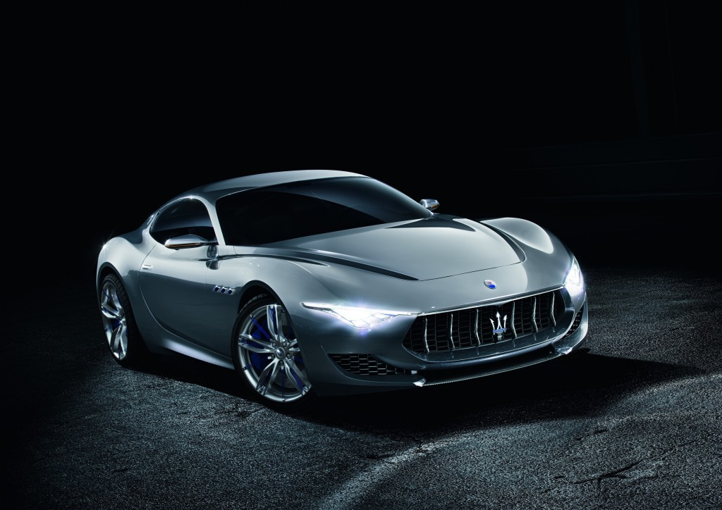 The 2017 Maserati Alfieri, as designed for commercial production. Photo courtesy of Maserati.