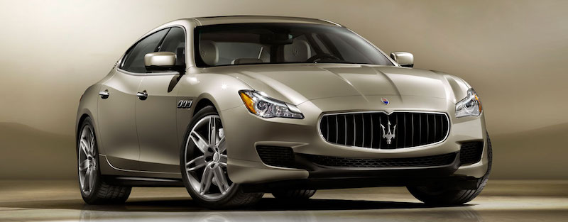 The 2016 Maserati Quattroporte.