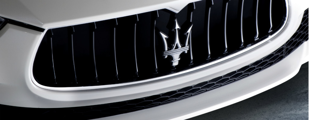 2016 Maserati Ghibli Grille