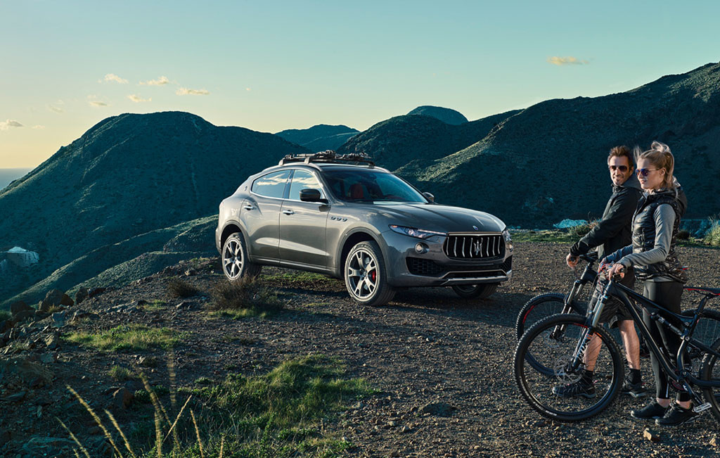 2017 Maserati Levante Outdoors