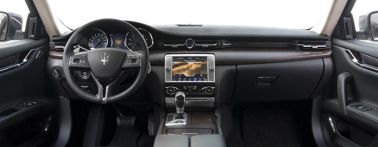 Maserati Quattroporte Technology Pic