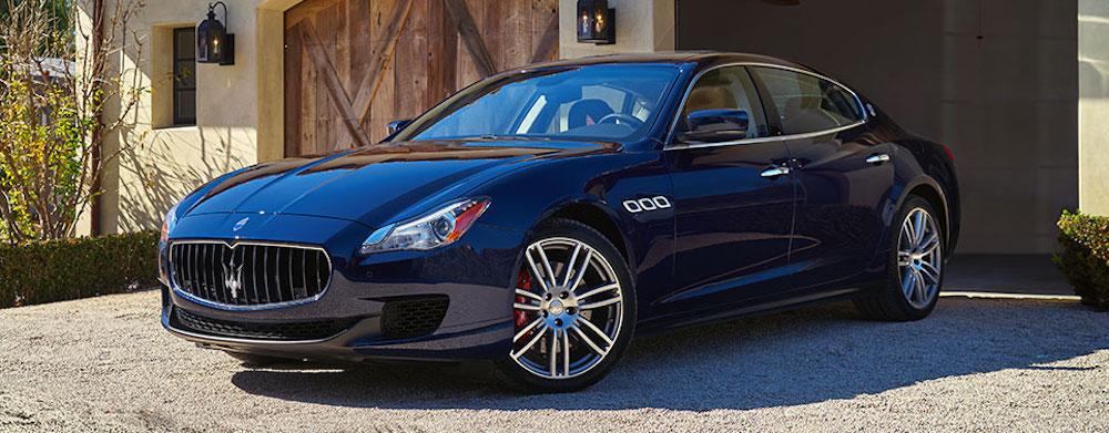2016 Maserati Quattroporte Trims