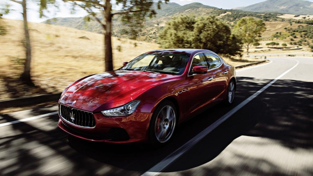 2016 Maserati Ghibli Road