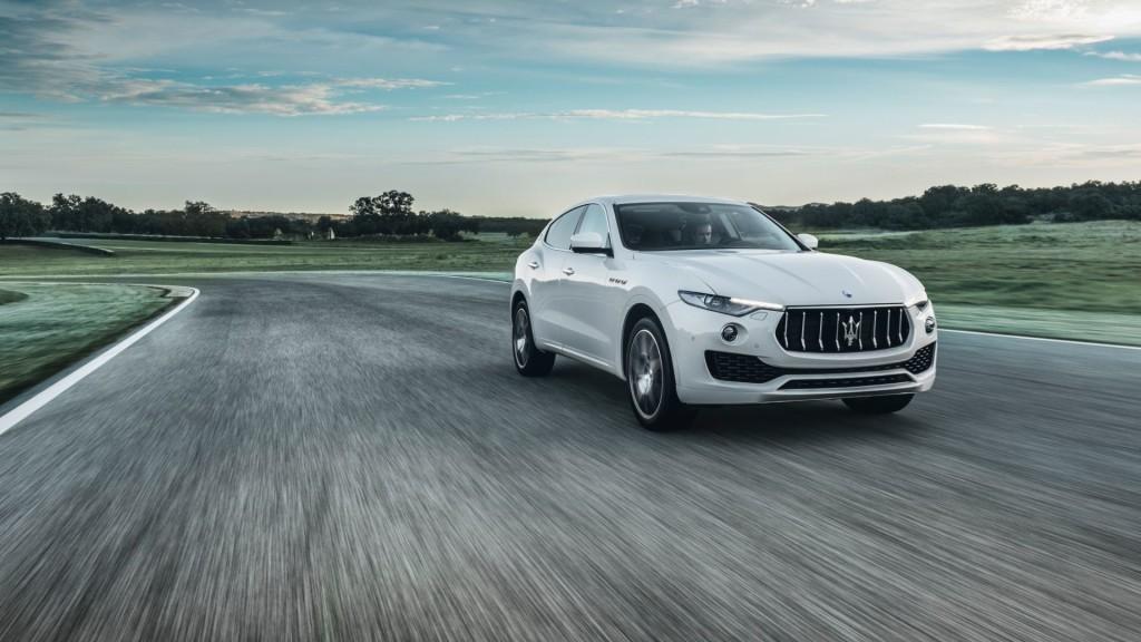 2017 Maserati Levante Front