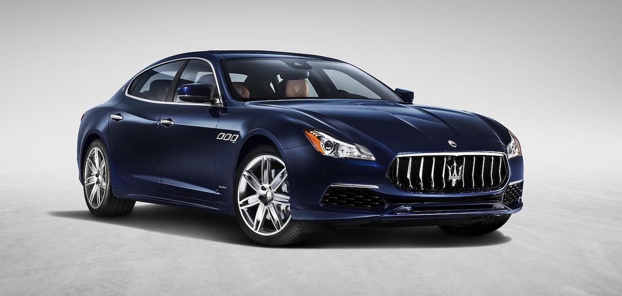Maserati Quattroporte Design