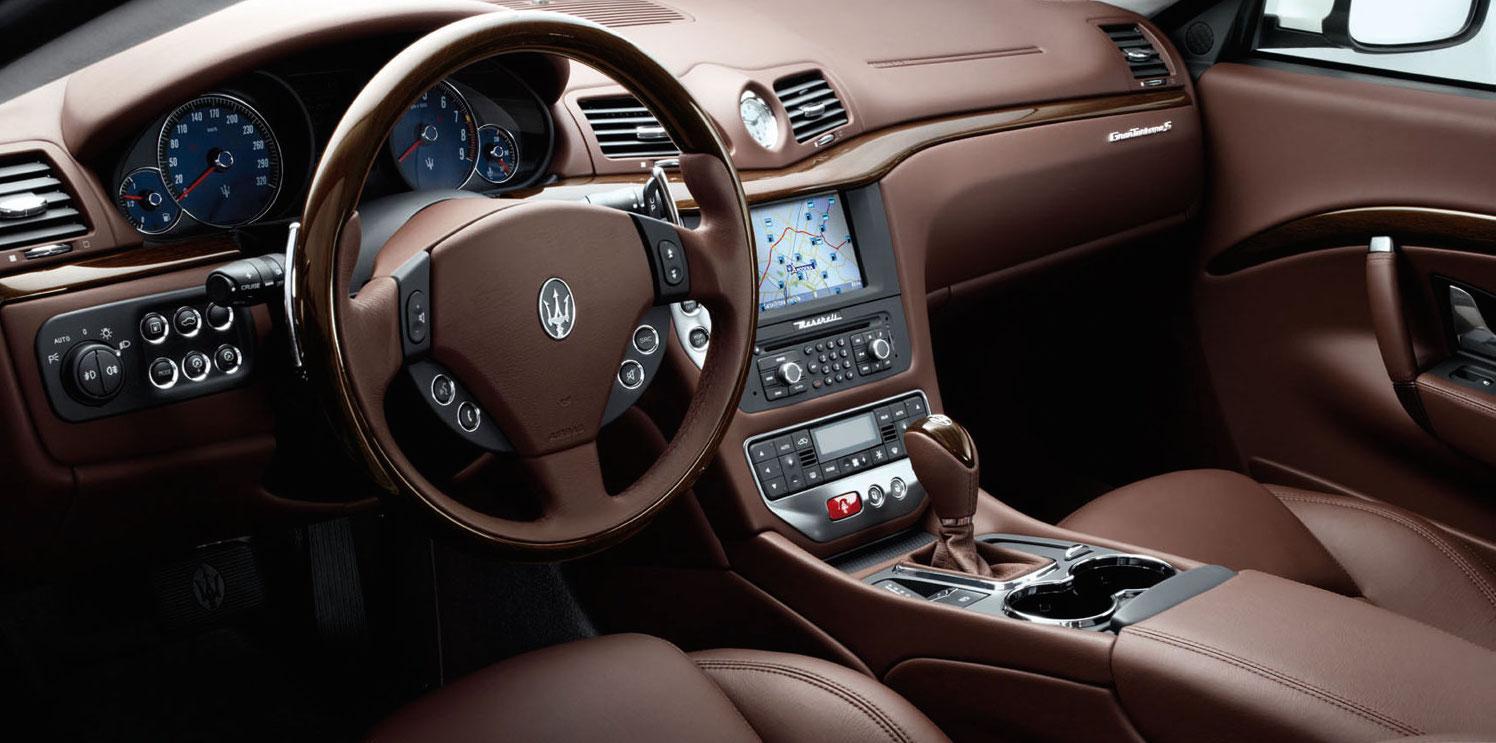 Maserati granturismo 2016 interior