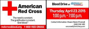 Matthew Hargreaves Blood Drive Reminder!