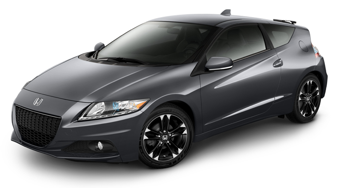 2015 CR-Z EX gray