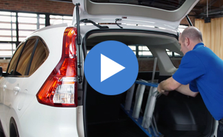 Honda CR-V Folding Rear Seats