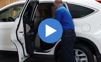 Honda CR-V Wide Opening Rear Doors