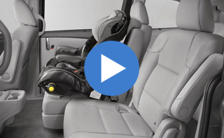 Honda Odyssey Wide-Mode Adjustable Seats