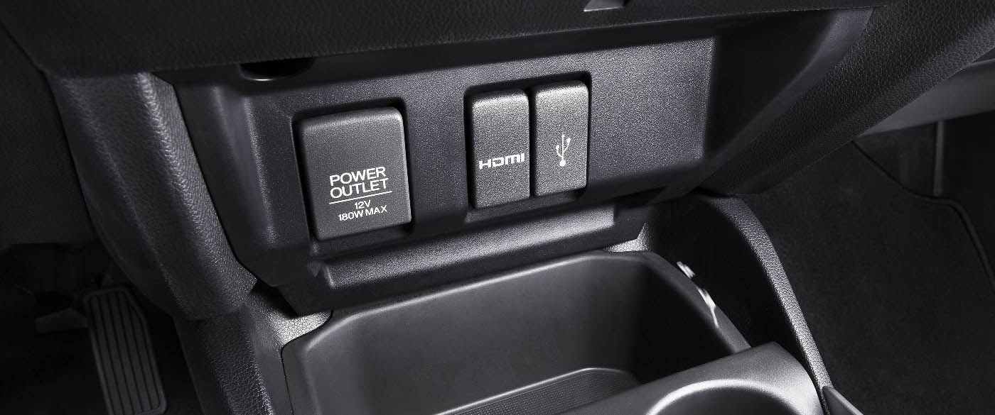 Honda Fit Power and USB Outlets