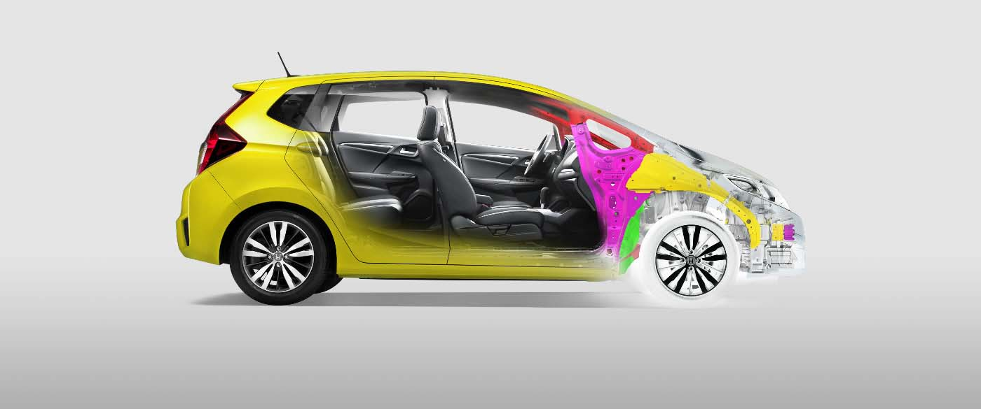 2017 Honda Fit ACE Body Structure