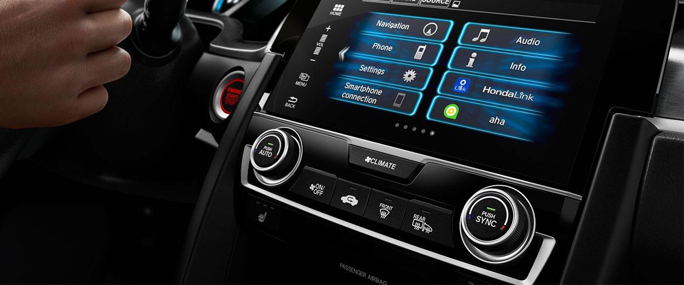 2017 Honda Civic Automatic Climate Control