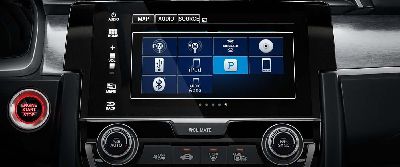 2017 Honda Civic Radio Options