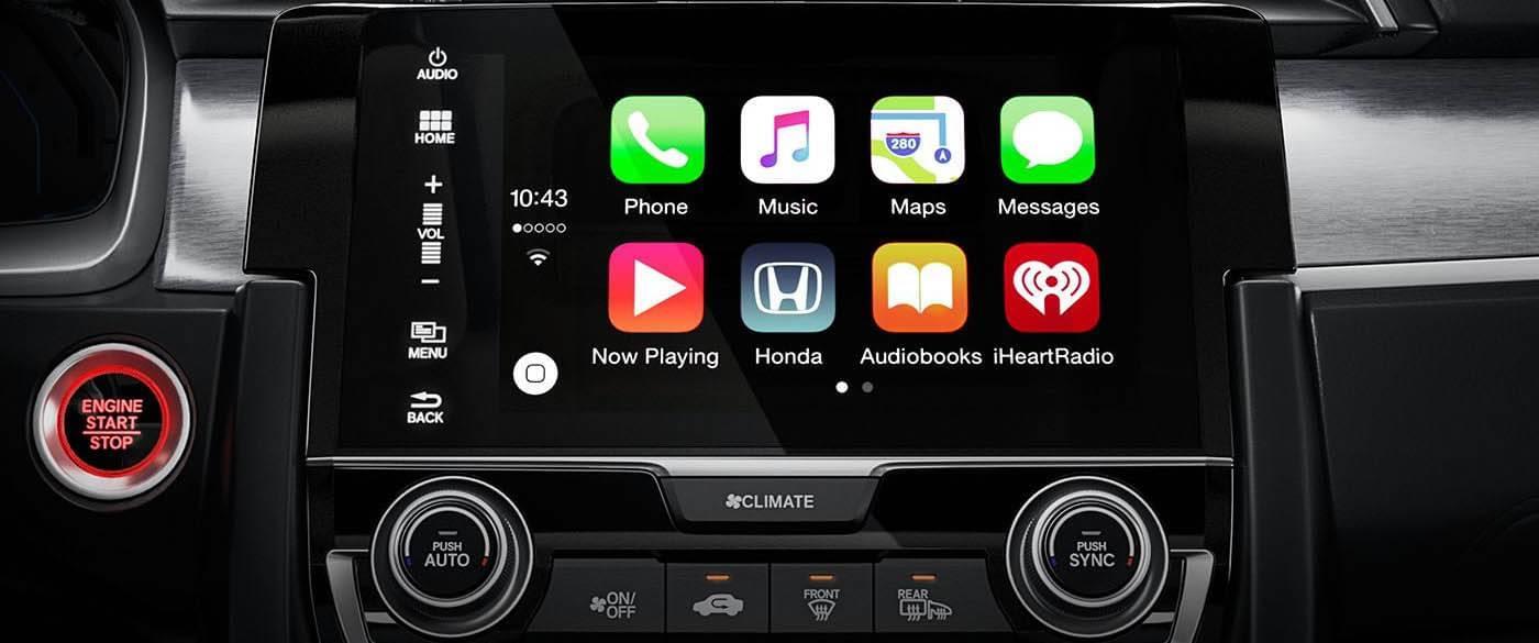 Honda Civic Apple Carplay