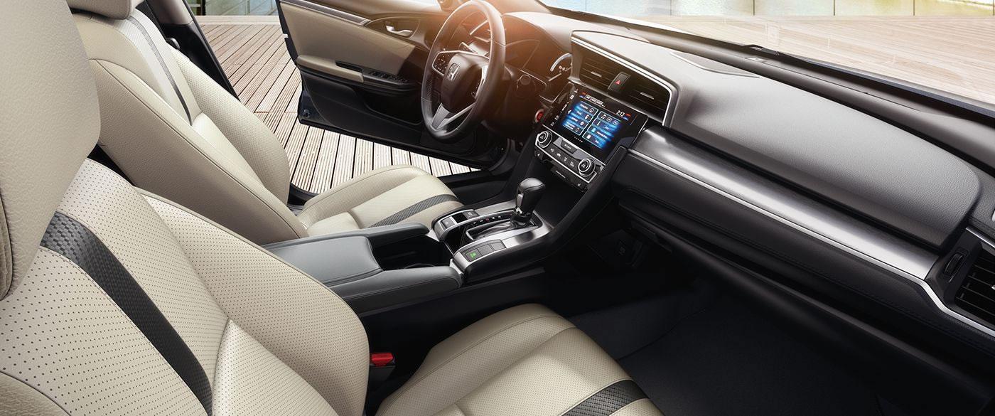 Honda Civic Leather Interior