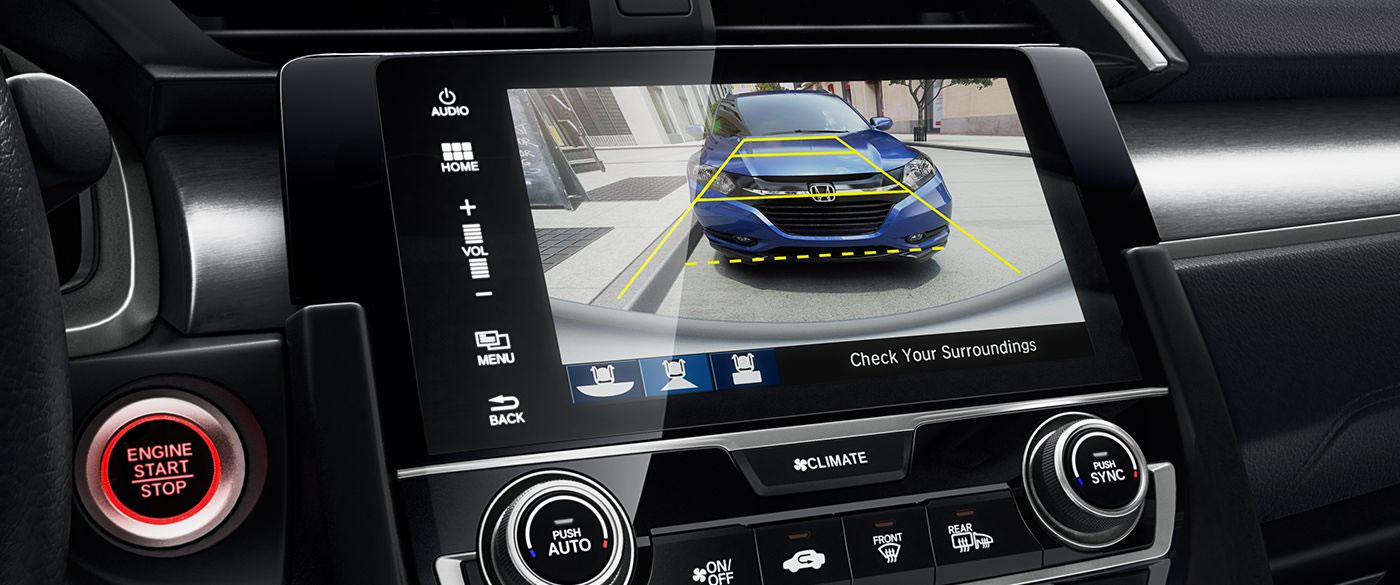 Honda Civic Rearview Camera