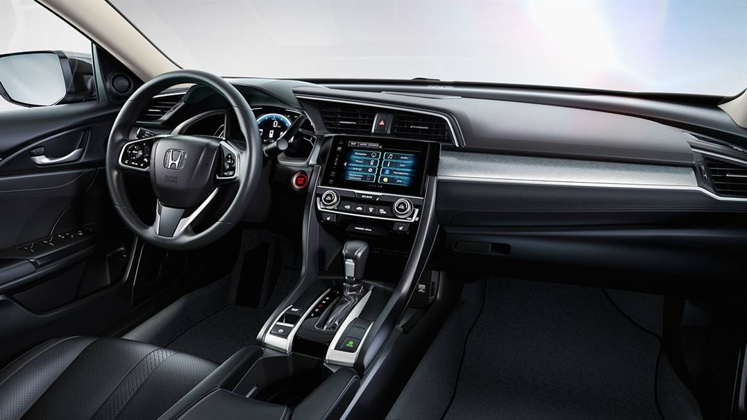 Honda Civic Upgraded Features