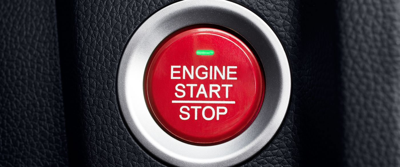 Honda Fit Push Start Button