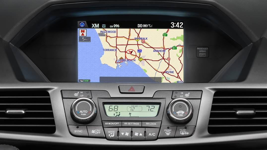 2016 Honda Odyssey Navigation