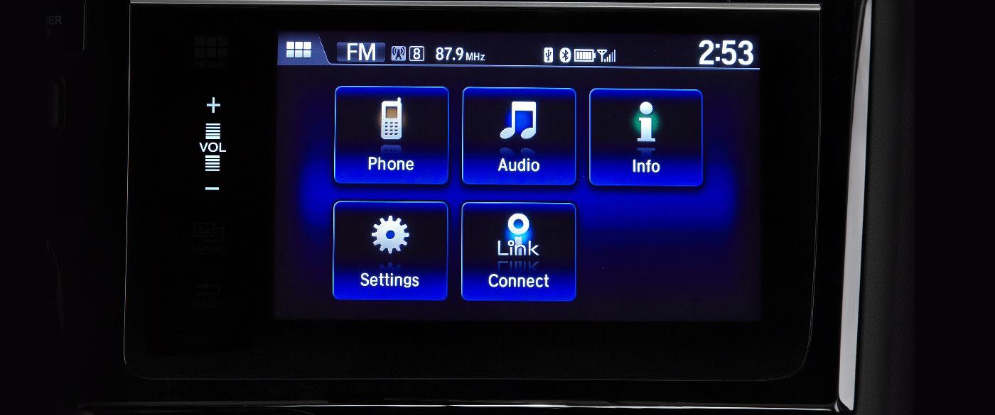 Honda Fit 7 Inch Display