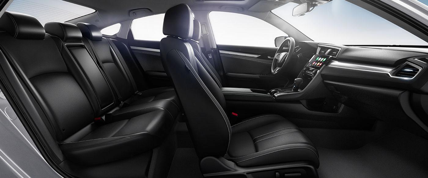 Honda Civic Interior Seating