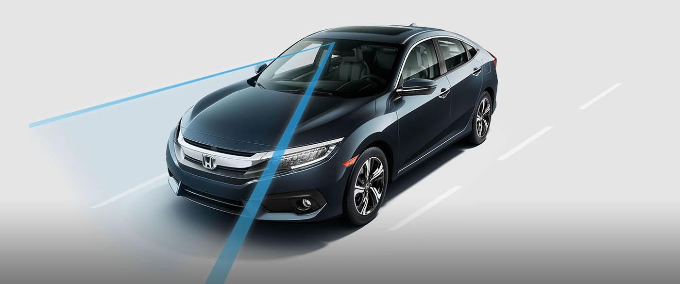 Honda Civic Road Departure Mitigation System