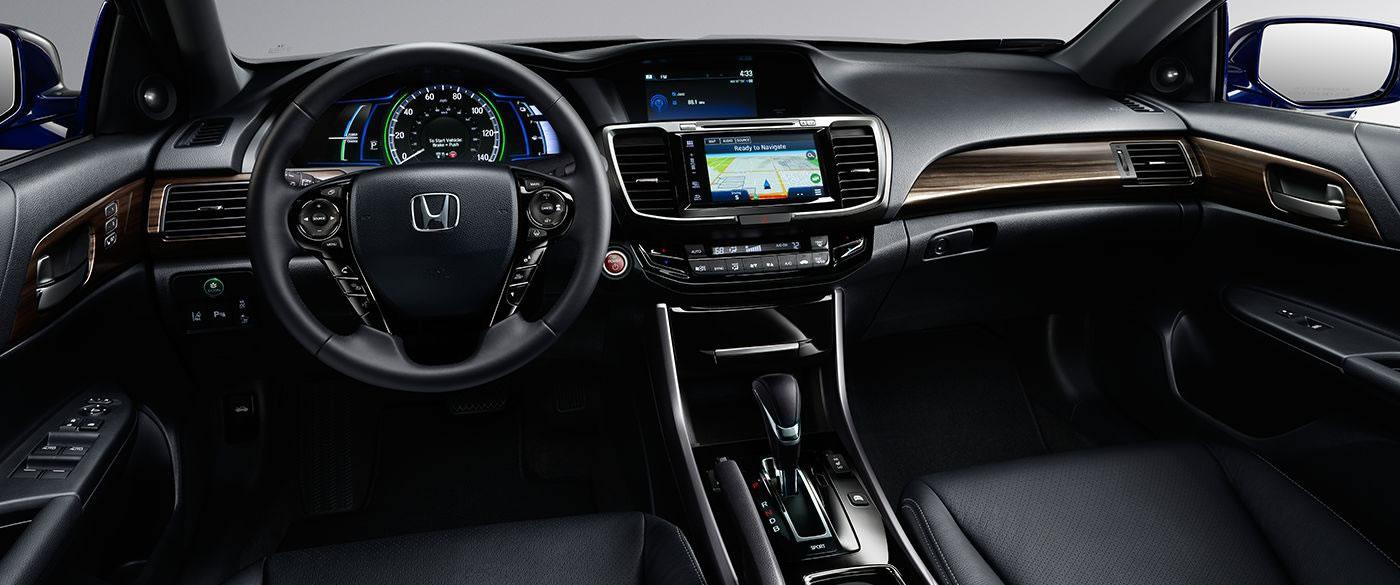 Honda Accord Hybrid Navigation