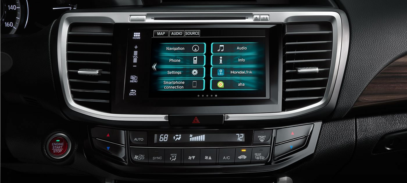 Honda Accord Hyrid Radio Options