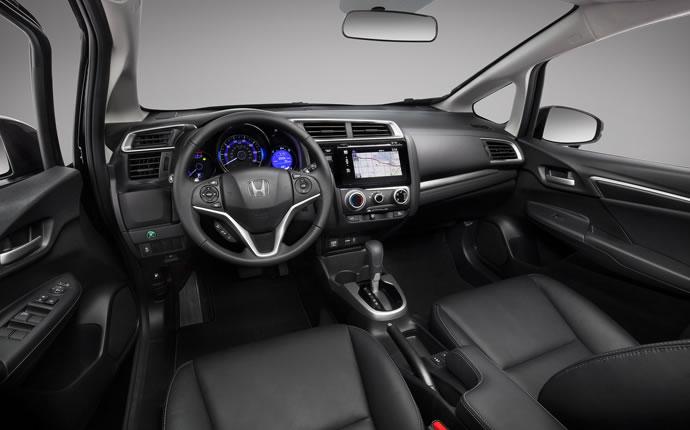 2015 Honda Fit Interior Cabin