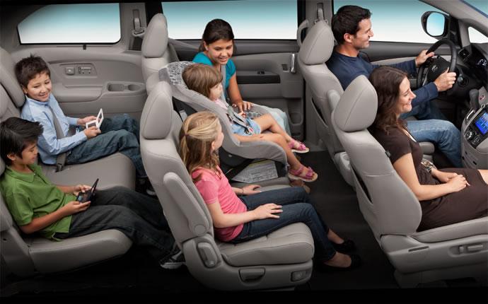 2015 Honda Odyssey Passenger Volume