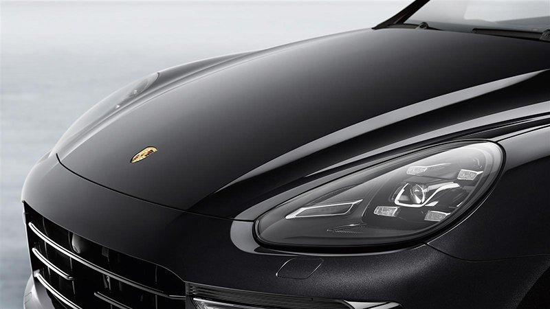 Hood of Porsche