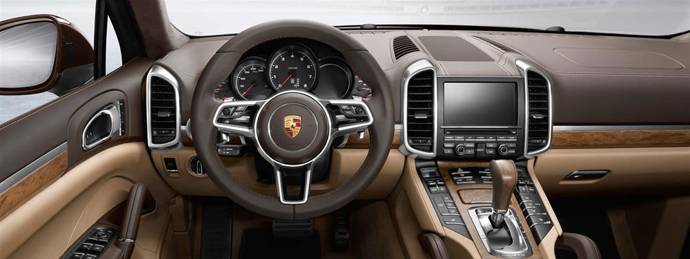 2016 Porsche Cayenne Interior Offers Prime Luxury Features