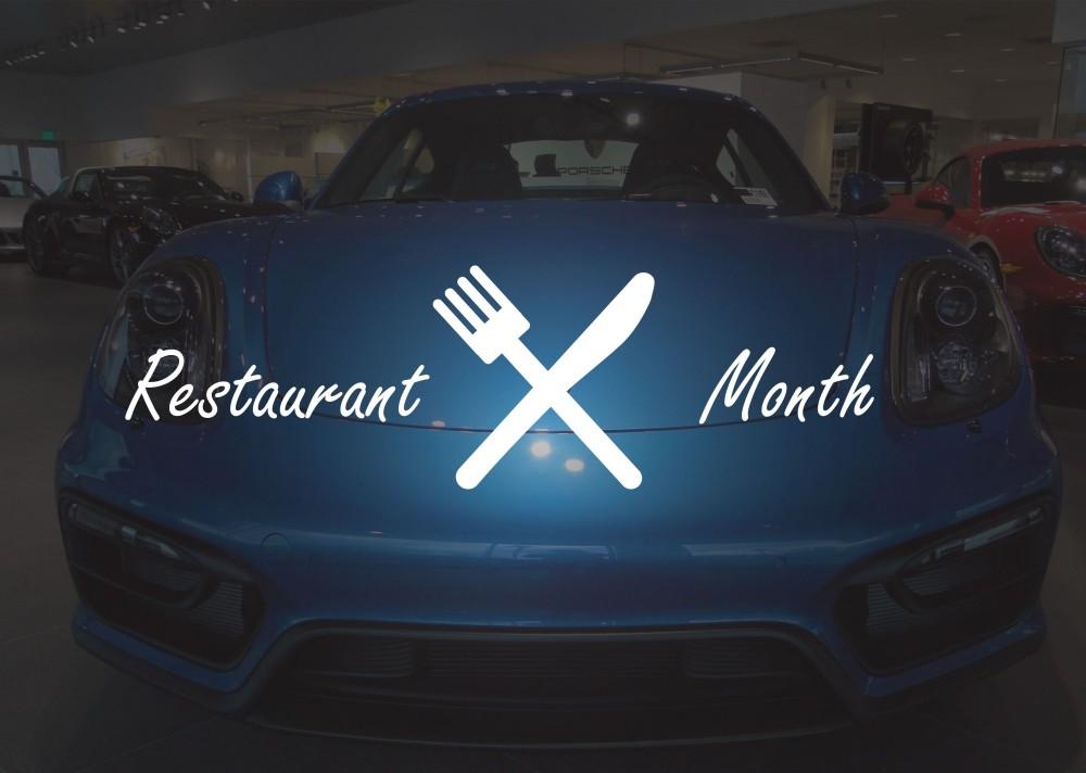 restaurant-month Porsche